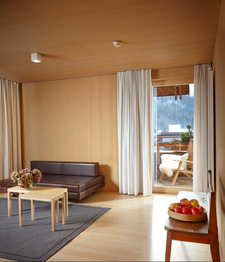wohnen im bregenzerwald hotel post bezau. Black Bedroom Furniture Sets. Home Design Ideas